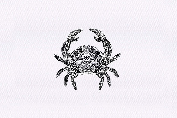 Mandala Crab Mandala Embroidery Design By DigitEMB