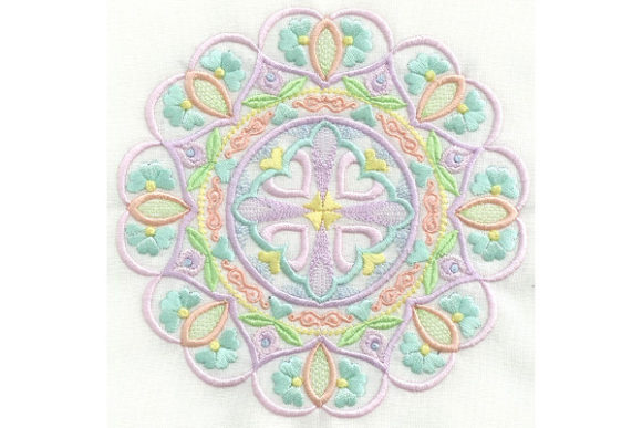 Mandala Magic Mandala Embroidery Design By Enigma Embroidery - Image 1