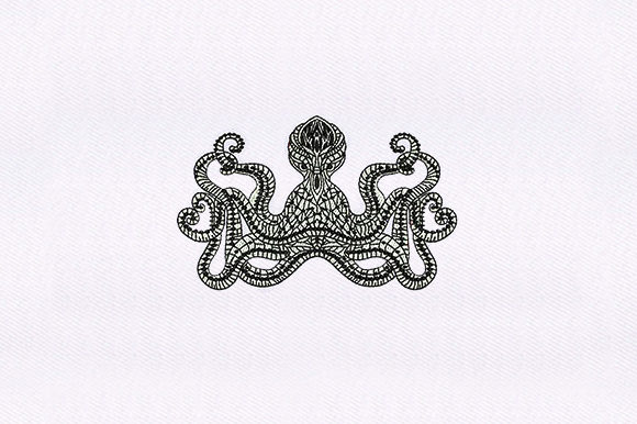 Mandala Octopus Mandala Embroidery Design By DigitEMB