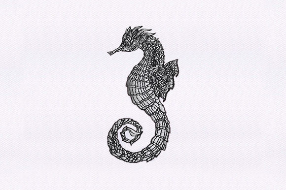 Mandala Seahorse Mandala Embroidery Design By DigitEMB