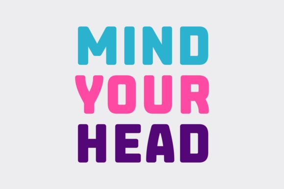 Print on Demand: Mind Your Head Sans Serif Font By Situjuh