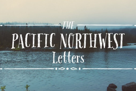 Print on Demand: Pacific Northwest Script & Handwritten Font By cultivatedmind.types