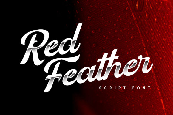 Print on Demand: Red Father Display Font By Runsell Graphic