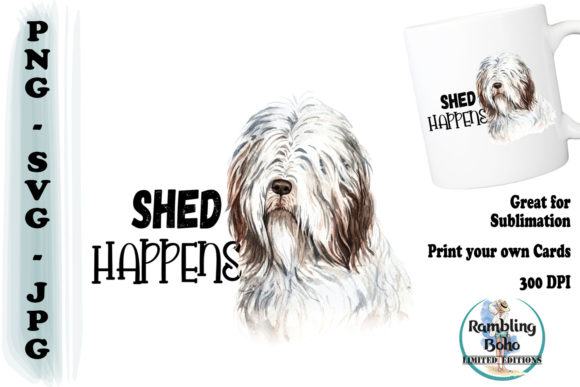 Shed Happens Graphic Illustrations By RamblingBoho