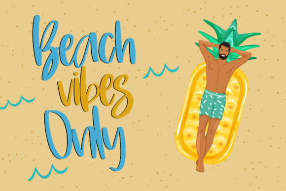 Print on Demand: Sunday Beach Script & Handwritten Font By dmletter31 - Image 2