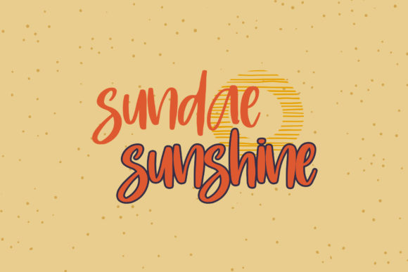 Print on Demand: Sunday Beach Script & Handwritten Font By dmletter31 - Image 5
