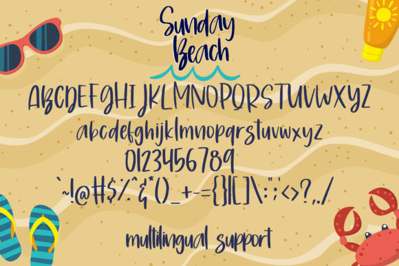 Print on Demand: Sunday Beach Script & Handwritten Font By dmletter31 - Image 7