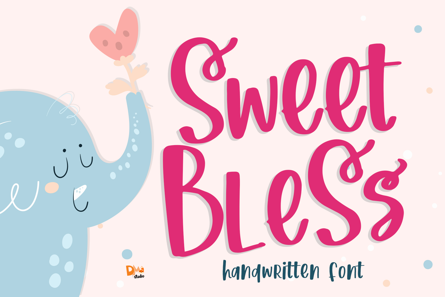 Sweet Bless Font By Dmletter31 Creative Fabrica