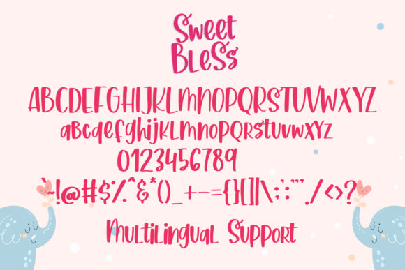 Print on Demand: Sweet Bless Script & Handwritten Font By dmletter31 - Image 7