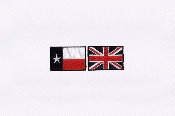 Texas and Jack Flag Independence Day Embroidery Design By DigitEMB