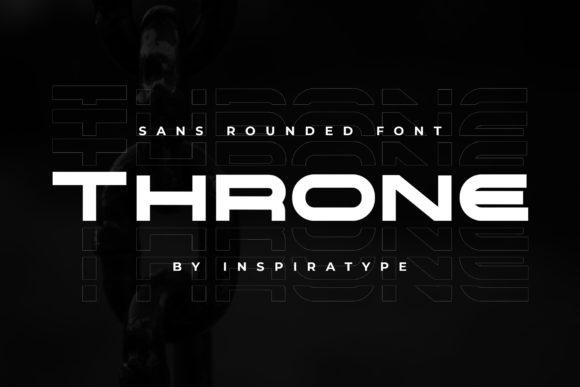 Print on Demand: Throne Display Font By InspiraType