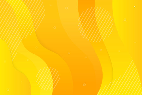 Download Free Yellow Gradient Wave Line Background Graphic By Noory Shopper for Cricut Explore, Silhouette and other cutting machines.