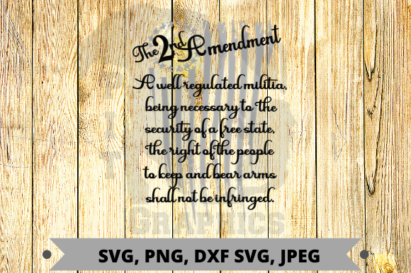 2nd Amendment Graphic By Pit Graphics Creative Fabrica