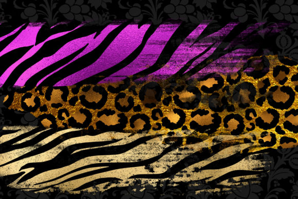 Animal Print Paint Strokes Clipart Graphic Illustrations By Digital Curio - Image 3