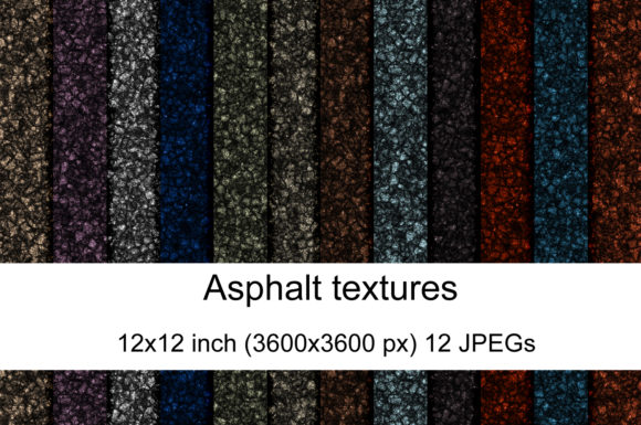 Print on Demand: Asphalf Texture Graphic Textures By Andrea Kostelic