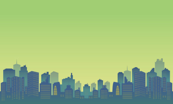 Background of Building Tall in Downtown Graphic Backgrounds By cityvector91
