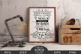 I Will Not Fear Graphic Crafts By Nerd Mama Cut Files