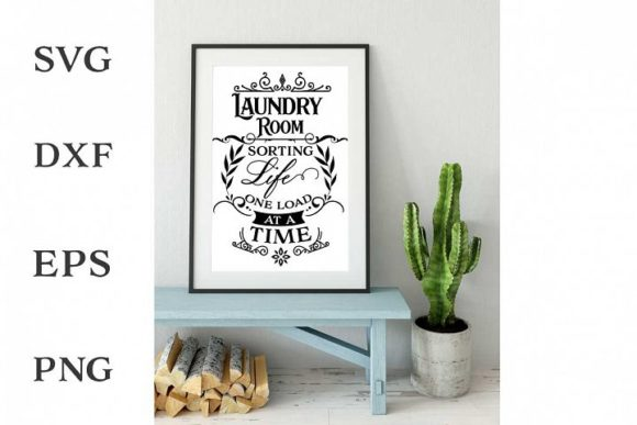 Print on Demand: Laundry Room Graphic Crafts By Nerd Mama Cut Files
