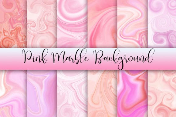 Pink Marble Background Graphic Backgrounds By PinkPearly