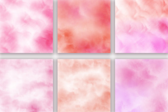 Pink Pastel Ombre Watercolor Background Graphic Backgrounds By PinkPearly - Image 2