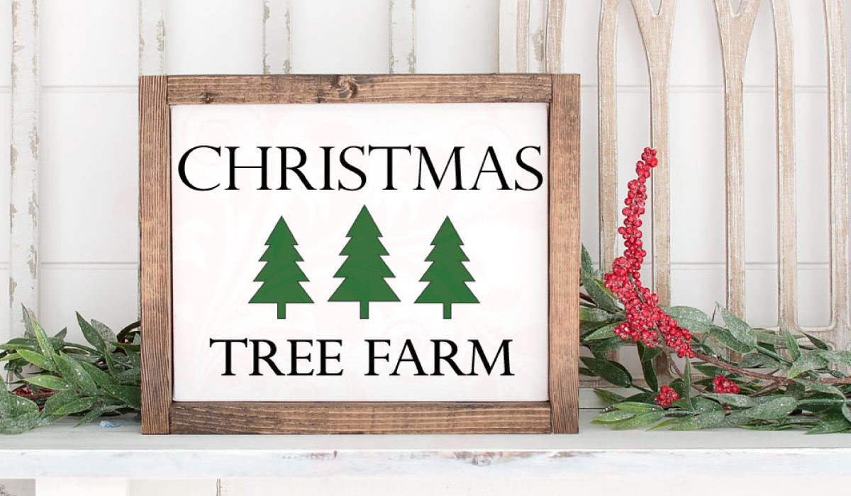 Download Free Christmas Tree Farm Farmhouse Graphic By Farmstone Studio SVG Cut Files