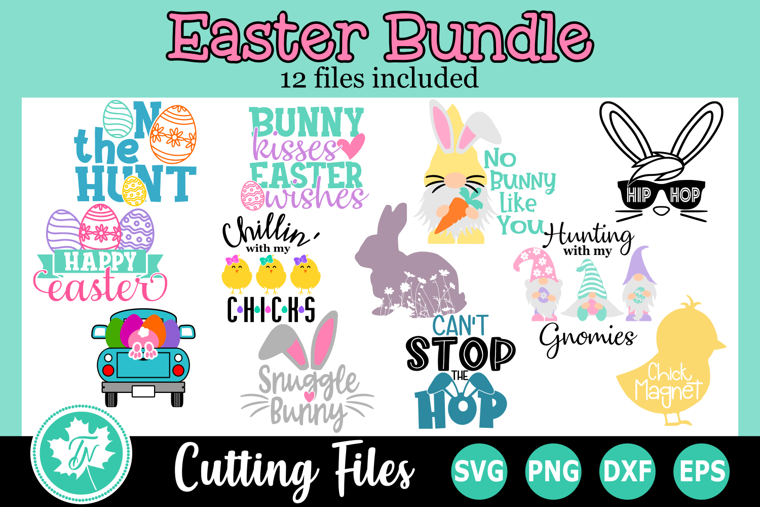 Download Free Easter Bundle Graphic By Truenorthimagesca Creative Fabrica SVG Cut Files