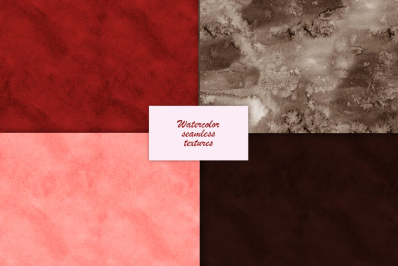 Watercolor Chocolate Textures Graphic Illustrations By NataliMyaStore - Image 3