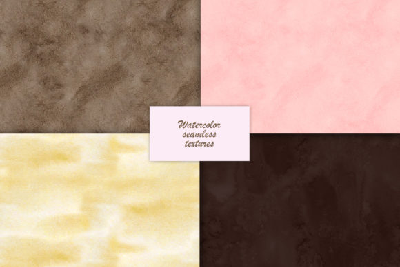 Watercolor Chocolate Textures Graphic Illustrations By NataliMyaStore - Image 4