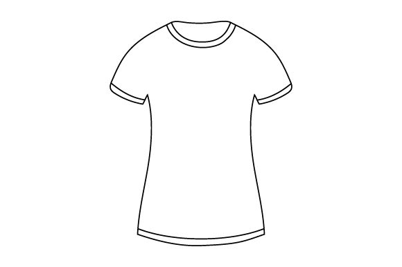 T-shirt Mockup Designs & Drawings Craft Cut File By Creative Fabrica Crafts