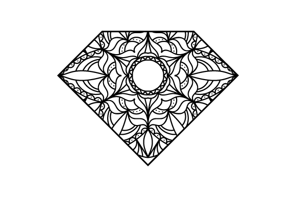 Download Free Diamond Svg Cut File By Creative Fabrica Crafts Creative Fabrica for Cricut Explore, Silhouette and other cutting machines.