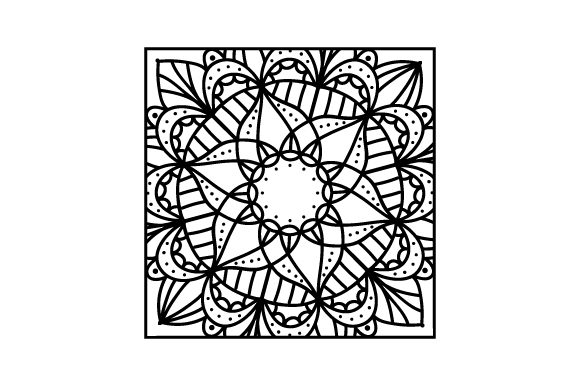 Square Mandalas Archivo de Corte Craft Por Creative Fabrica Crafts