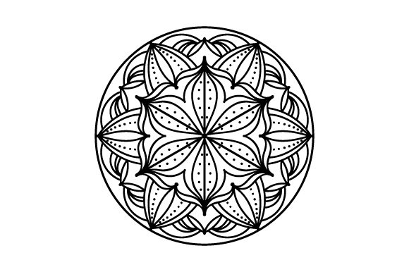 Circle Mandalas Plotterdatei von Creative Fabrica Crafts