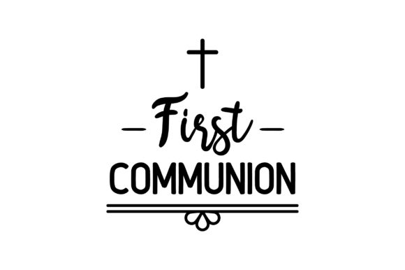 First Communion Religious Craft Cut File By Creative Fabrica Crafts