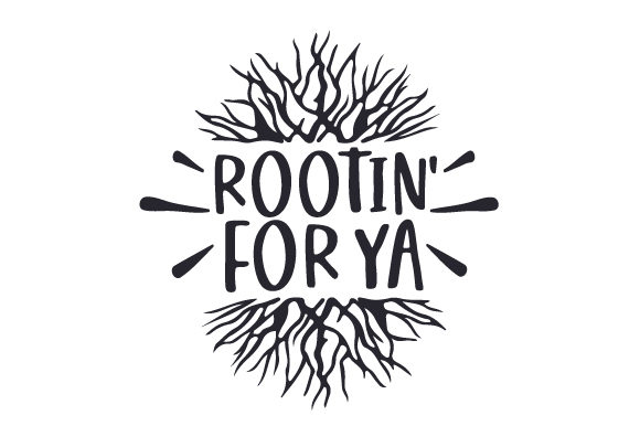 Rootin' for Ya Nature & Outdoors Craft Cut File By Creative Fabrica Crafts