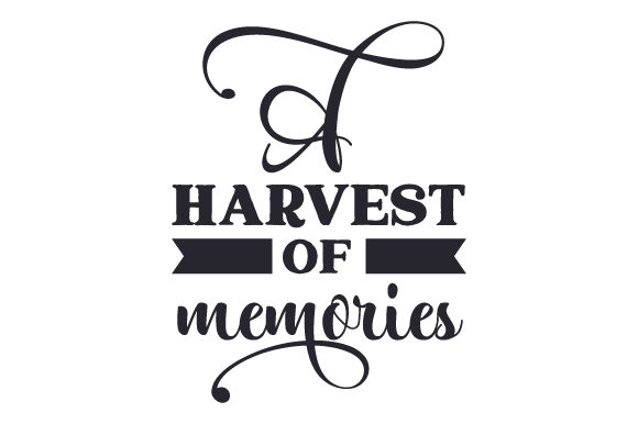 A Harvest of Memories Fall Craft Cut File By Creative Fabrica Crafts