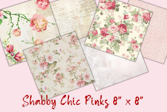 Print on Demand: 30 Backgrounds Shabby Chic 8