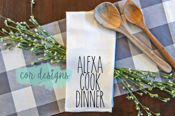 Print on Demand: Alexa Cook Dinner Graphic Crafts By designscor