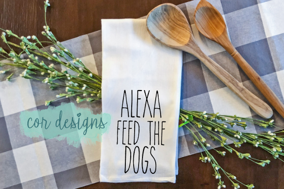 Print on Demand: Alexa Feed the Dogs Graphic Crafts By designscor