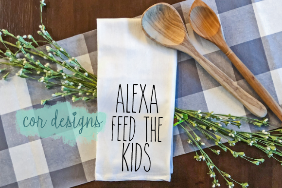 Print on Demand: Alexa Feed the Kids Graphic Crafts By designscor