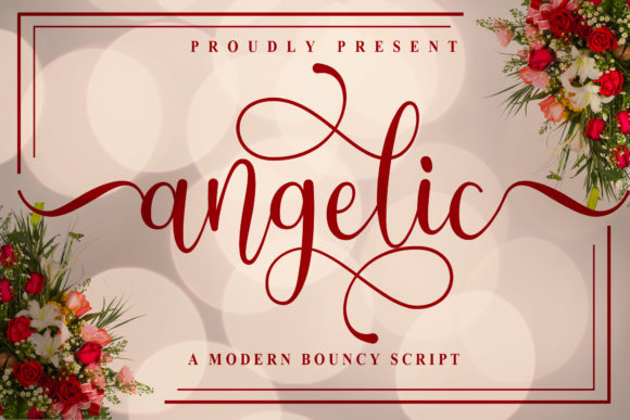 Print on Demand: Angelic Script & Handwritten Font By Doehantz Studio - Image 1