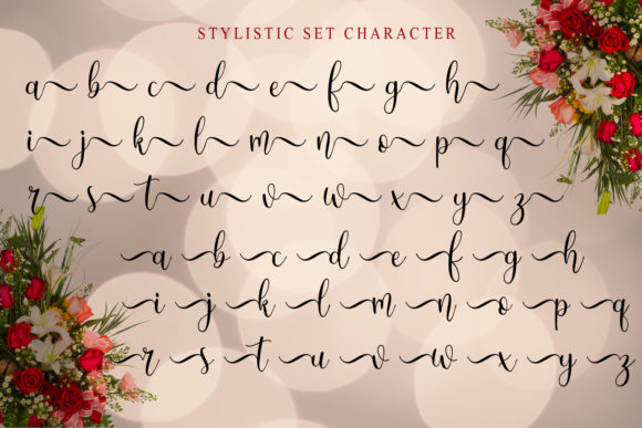 Print on Demand: Angelic Script & Handwritten Font By Doehantz Studio - Image 10