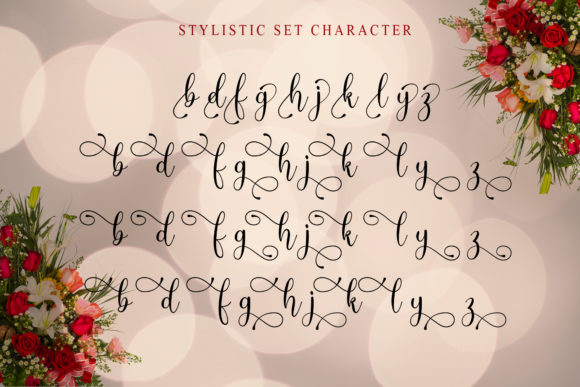 Print on Demand: Angelic Script & Handwritten Font By Doehantz Studio - Image 11