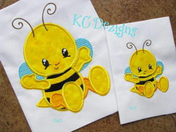 Baby Bug Bee Bugs & Insects Embroidery Design By karen50 - Image 1