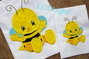 Baby Bug Bee Bugs & Insects Embroidery Design By karen50