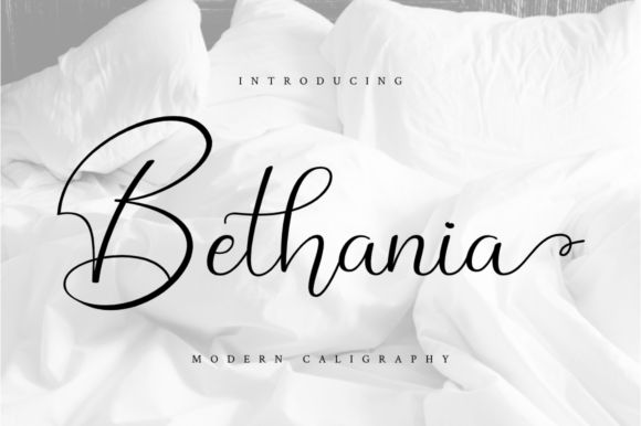 Print on Demand: Bethania Script & Handwritten Font By Haffa Studio