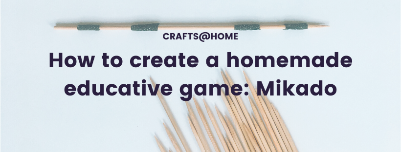 How to create a homemade mikado.