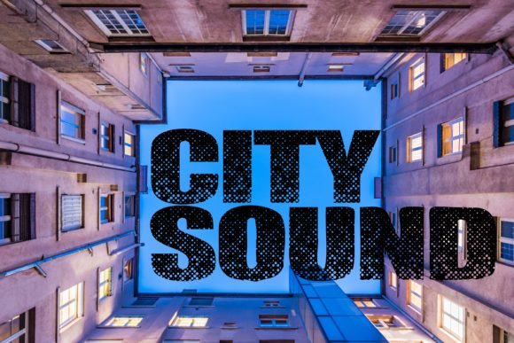 Print on Demand: City Sound Display Font By Mr.pagman