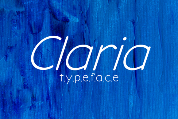 Print on Demand: Claria Sans Serif Font By brithostype