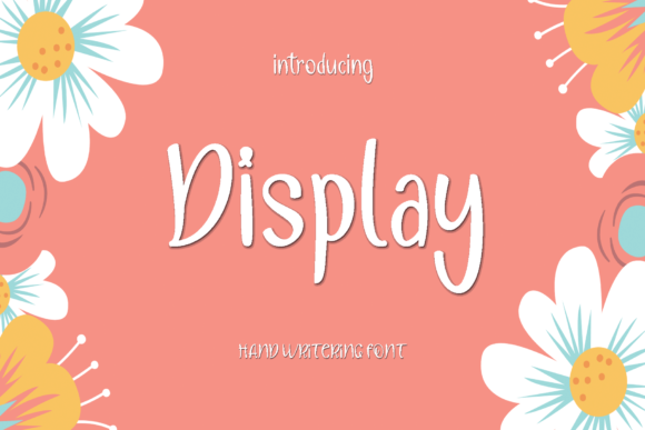 Print on Demand: Display Script & Handwritten Font By MYdesign