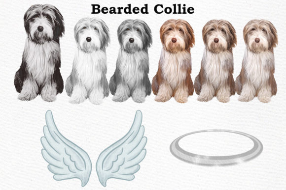 Download Free Dog Breeds Clipart Graphic By Lecoqdesign Creative Fabrica for Cricut Explore, Silhouette and other cutting machines.